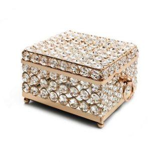 קופסת תכשיטים – DIAMOND מרובעת