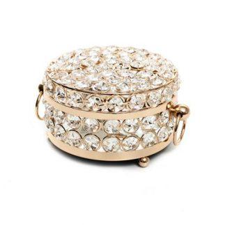 קופסת תכשיטים – DIAMOND עגולה בשני גדלים