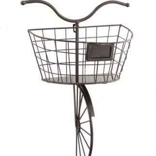 בית עציץ/מדף לתלייה בצורת אופניים