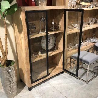 ארון עץ + מתכת – METALLIC