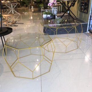 זוג שולחנות – GEO צהוב
