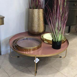 שולחן סלון – RAINBOW ורוד