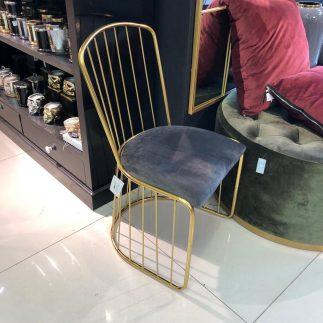 כיסא – PARIS זהב – אפור