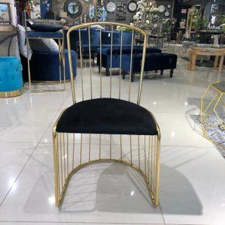 כיסא – PARIS זהב – שחור