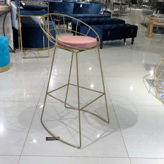 כיסא בר – BARCELONA זהב – פודרה