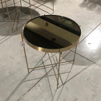 שולחן צד – TWIG זהב