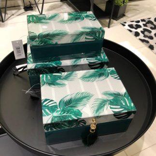 קופסת תכשיטים – JUNGLE בשלושה דגמים