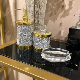 סט אמבט – SPARKLING זהב – כסף