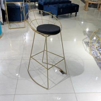 כיסא בר – BARCELONA זהב – שחור