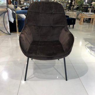 כורסא – ANGELINA  חום – אפרפר