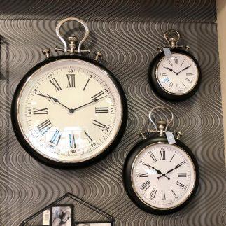 סדרת שעוני יוקרה לקיר – SUPREME בשלושה גדלים