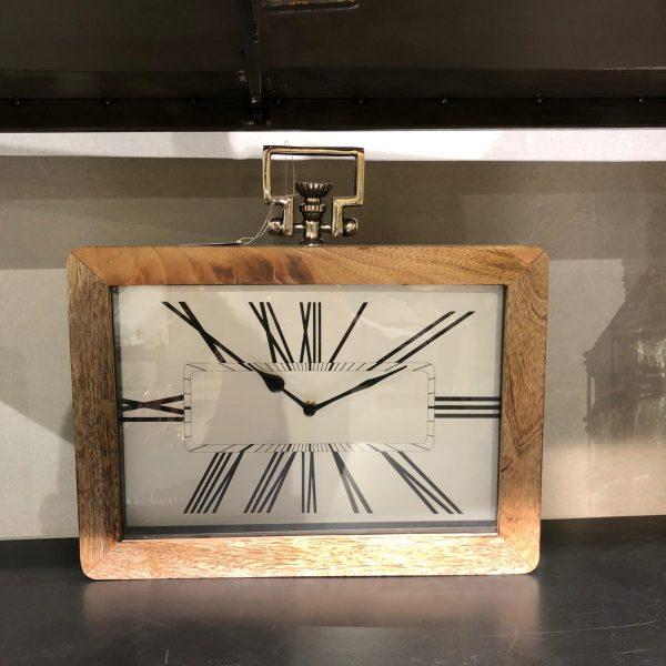 שעון עץ מלבני 3.0