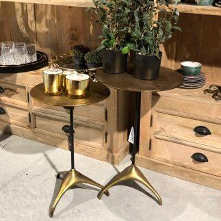 שולחן צד נחושת – CAMEL גדול/קטן