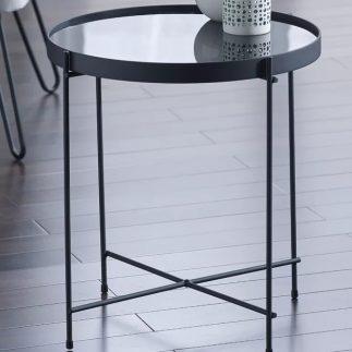 שולחן צד – TWIG שחור