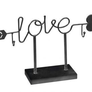 מעמד תכשיטים – LOVE שחור