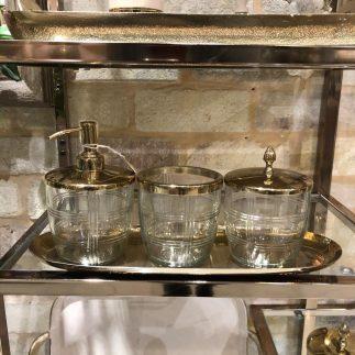 סט אמבט – HILTON זהב