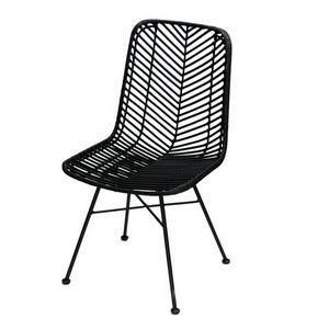זוג כסאות – BLACK RATTAN