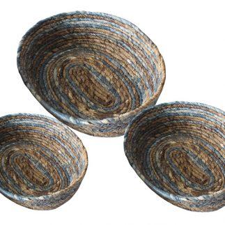 שלישיית סלסלאות חבלים אובליות – 1010