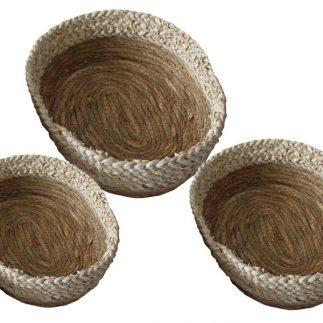 שלישיית סלסלאות חבלים אובליות – 3030