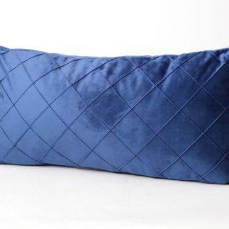 כרית נוי מלבנית – VELLUTO כחול רויאל