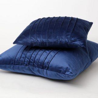 כרית נוי – VELEVET כחול רויאל גדול/קטן