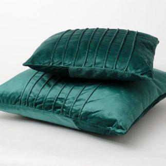 כרית נוי – VELVET ירוק גדול/קטן