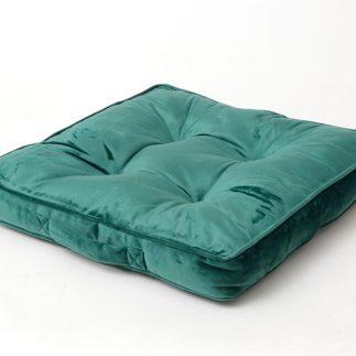 כרית ישיבה קטיפה – SITTING ירוק