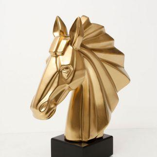 פסלון – CAVALLO זהב/כסף