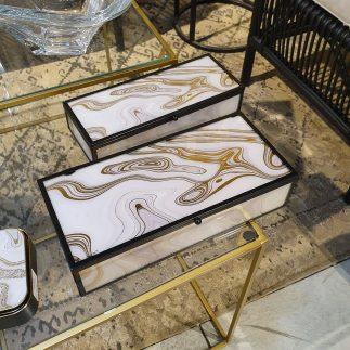 זוג קופסאות תכשיטים – SHAISH גדול