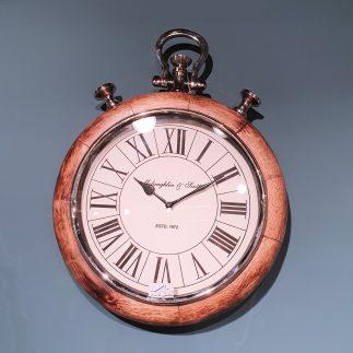 שעון קיר – ROUND WOOD