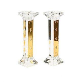 זוג פמוטי קריסטל – GOLD