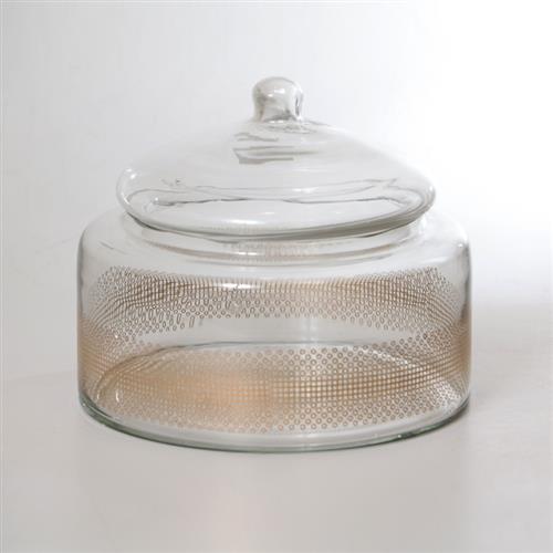 צנצנת זכוכית - FLORA