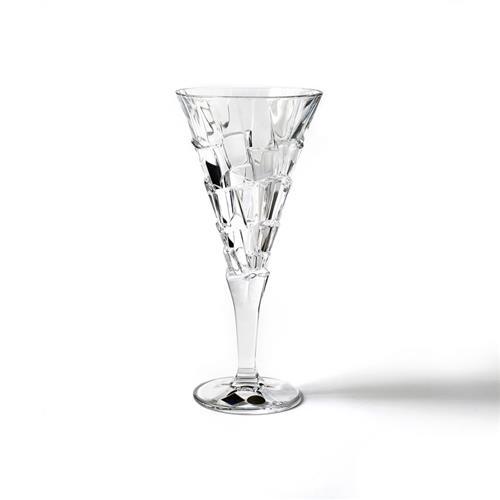 שישיית כוסות יין קריסטל - SANDY