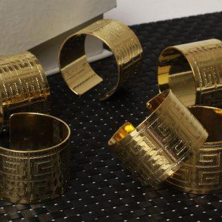 שישיית חבקים – VERSACE זהב