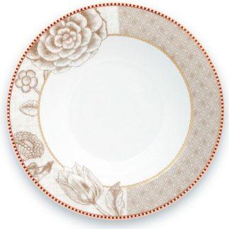 סט 6 צלחות מרק/סלט – WHITE SPRING