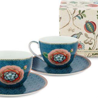 סט 6 כוסות קפוצ'ינו – BLUE SPRING