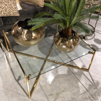 אגרטל – FLOWER זהב