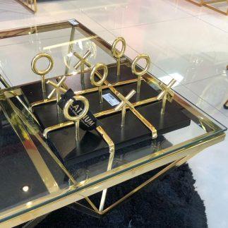 משחק – XO שחור – זהב