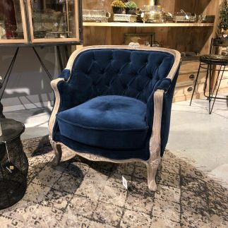 כורסא – PALACIO כחול רויאל/ ורוד עדין