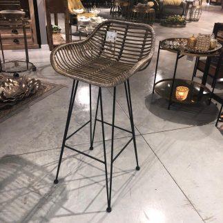 זוג כסאות בר – RATTAN