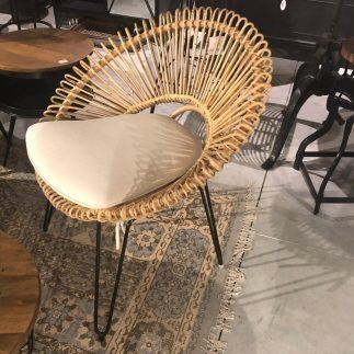 כורסא + כרית – RATTAN
