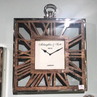 שעון קיר – TIMES SQUARE 2.0