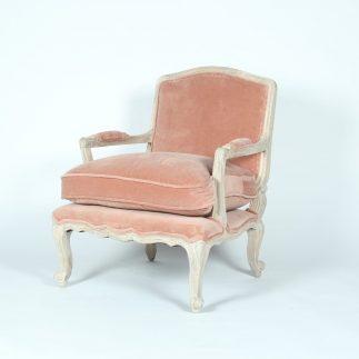 כורסא – CHARLES אפור/ורוד