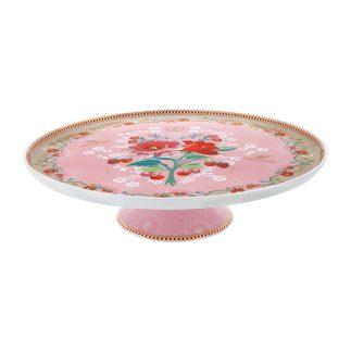 מגש לעוגה – PINK FLORAL