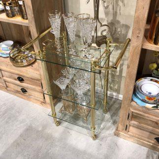 עגלת תה – SILVESTER זהב