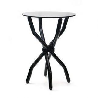 שולחן צד – BLACK BRAID