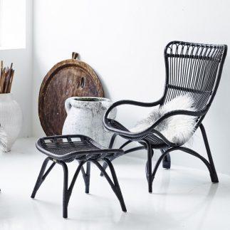 כיסא/כורסא – MONE שחור