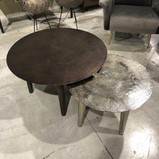 שולחן סלון – OMG נחושת כסופה/נחושת מושחרת