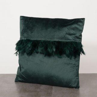 כרית נוי – TUTU שחור/ירוק/בורדו/כחול