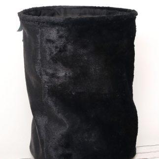 סל כביסה – SHAGGY שחור/לבן/משבצות שחור לבן